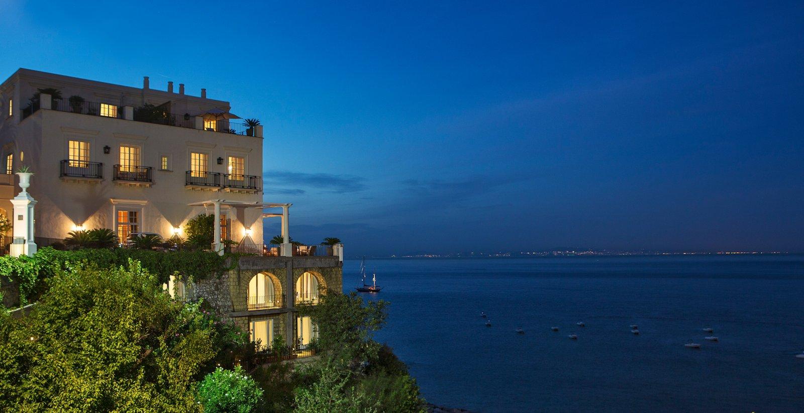 Hotel Bord De Mer Naples Italie