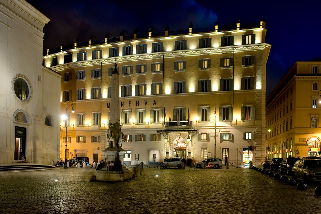 Hotel De Luxe Rome Italie Grand H 244 Tel De La Minerve