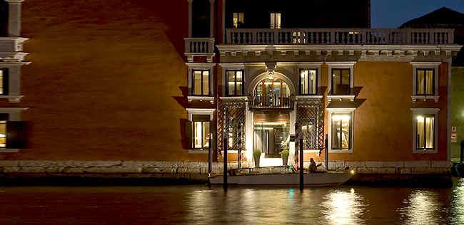 H tel de charme venise palazzo barbarigo venise italie for Hotel venise design