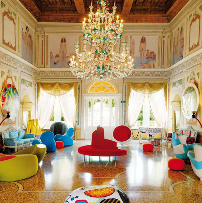 Hotel design Vérone Italie - Byblos Art Hotel 5 étoiles luxe