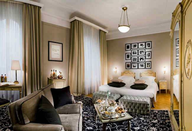 grand hotel et de milan h tel 5 toiles luxe milan italie. Black Bedroom Furniture Sets. Home Design Ideas