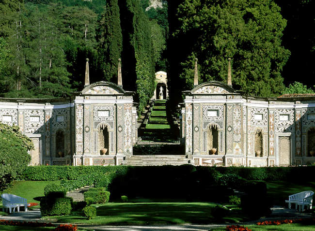 L gendaire villa d 39 este for Jardin villa d este