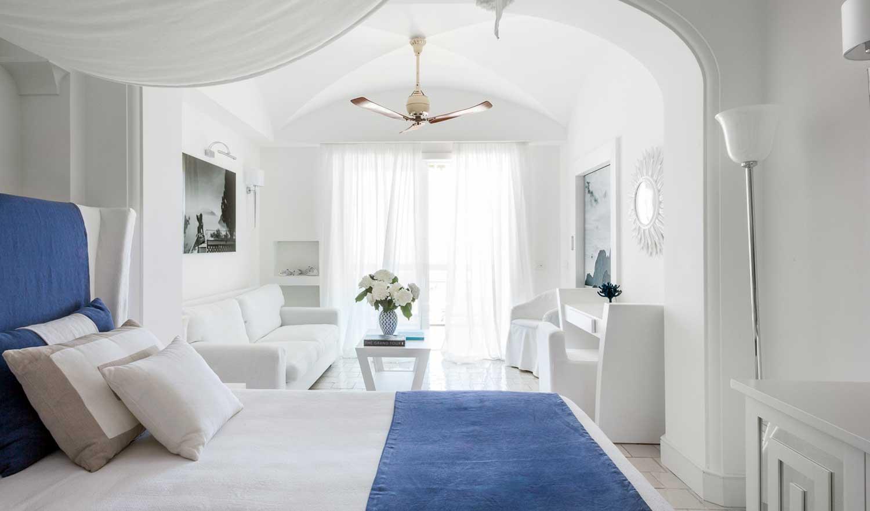 Junior Suite avec vue mer, Capri Palace - hotel de luxe Anacapri
