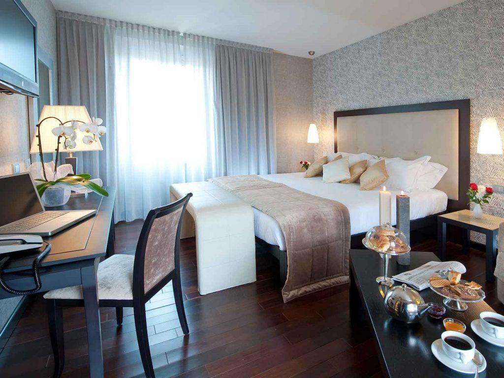 Fiume Hotel 4 étoiles Rome, Italie (chambre)