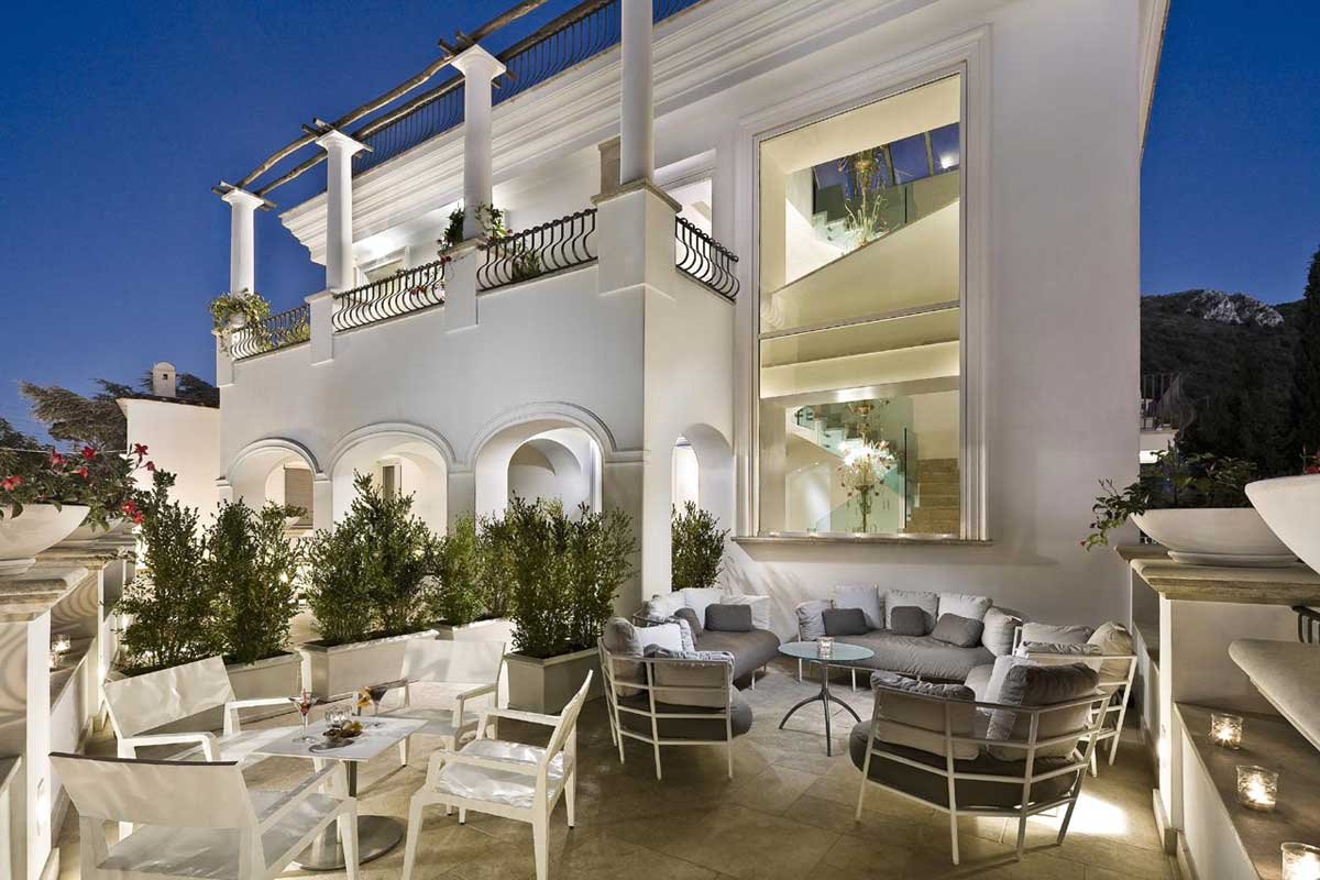 Meliá Villa Capri (Anacapri), vue extérieure de l'hôtel