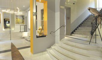 Art hotel Boston, hotel design Turin