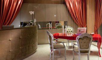 Fiume Hotel 4 étoiles Rome Italie (réception)