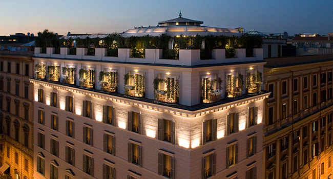 Boutique hotel design rome italie h tel isa for Design hotel rom