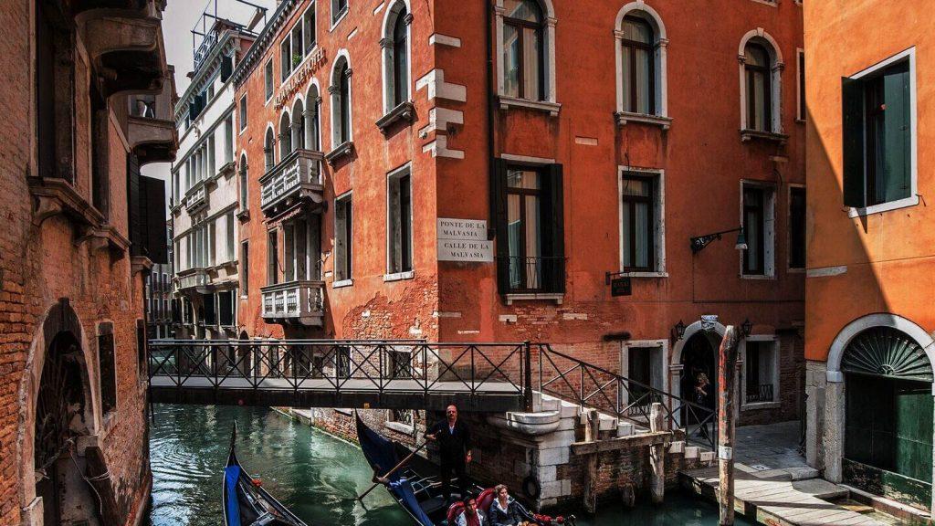 Aqua Palace Hotel de luxe à Venise Italie (quartier du Castello)