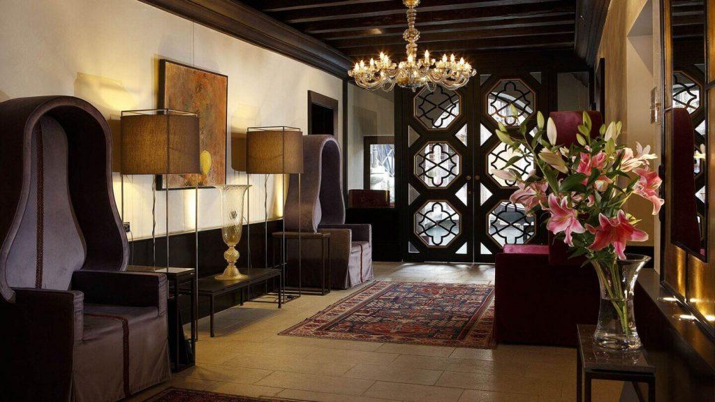Hall d'accueil Aqua Palace Hotel de luxe Venise, Italie