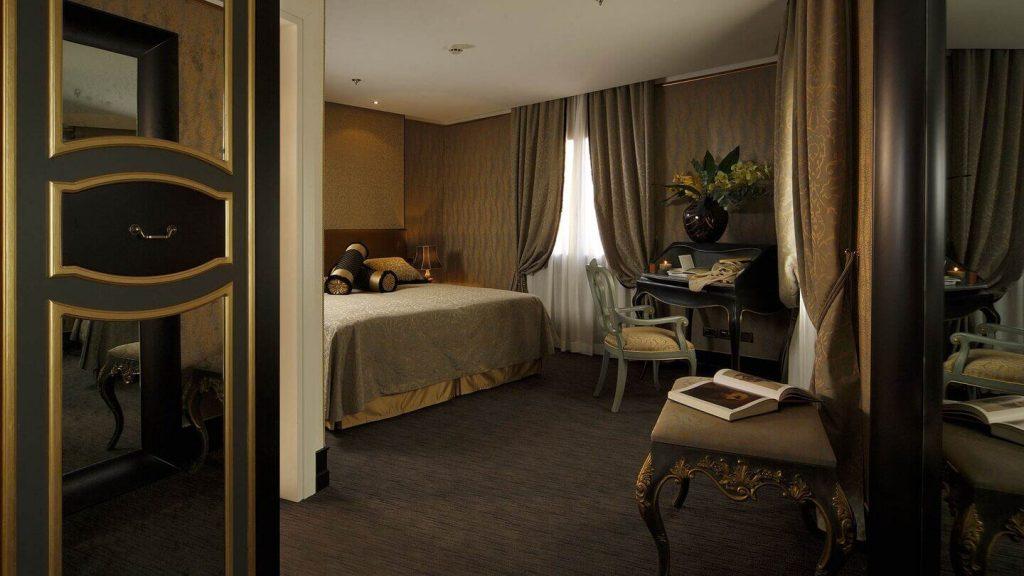 Junior Suite de l'Aqua Palace Hotel 4 étoiles Venise, Italie