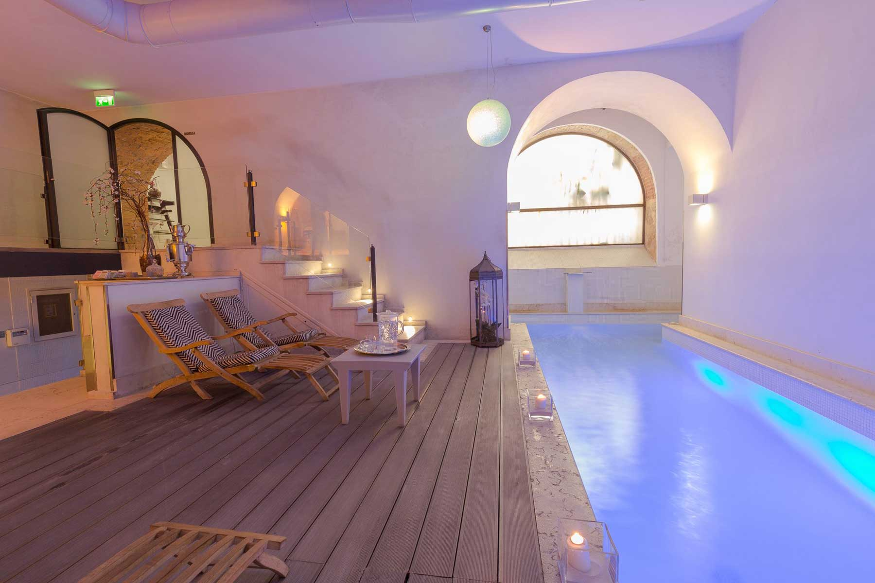 Quintocanto hotel spa palerme centre sicile for Design hotel palermo