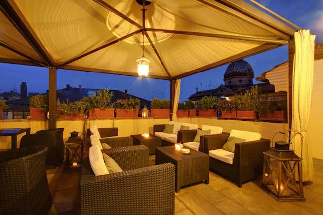 Boutique hotel rome italie h tel beldes rome for Design boutique hotels rome