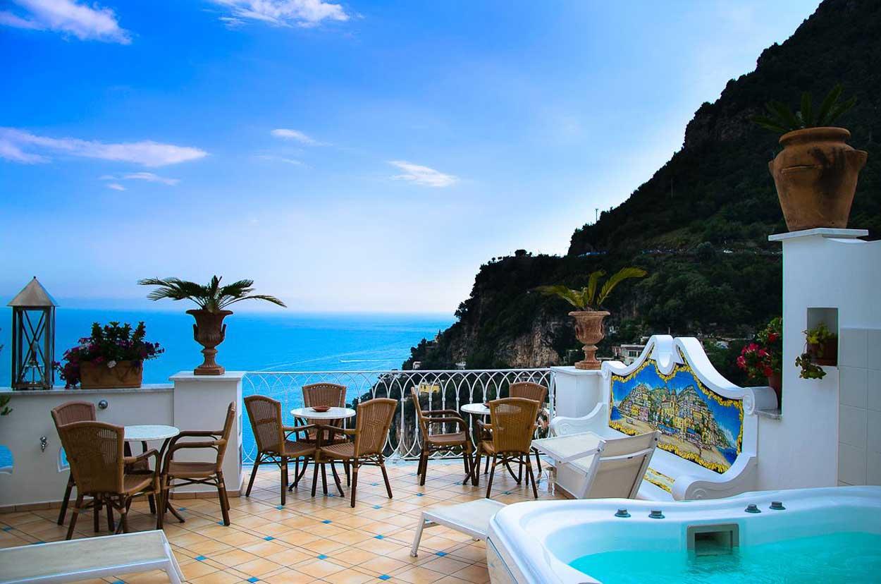 Palazzo Marzoli resort, Hotel de charme Positano côte Amalfitaine, Italie