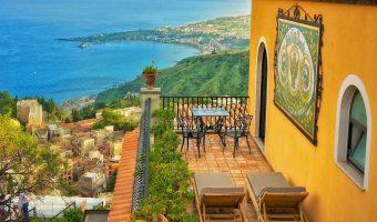 Villa Ducale Taormina (Sicile, Italie) - hôtel de charme avec vue panoramique
