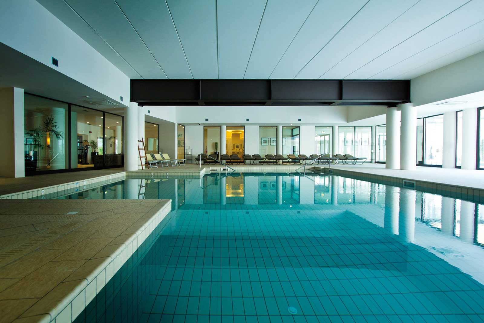 Hotel Principe di Lazise - Lac de Garde Italie : piscine intérieure