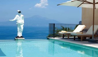 Piscine du Grand Hotel Angiolieri - Seiano, Vico Equense près de Sorrento Italie