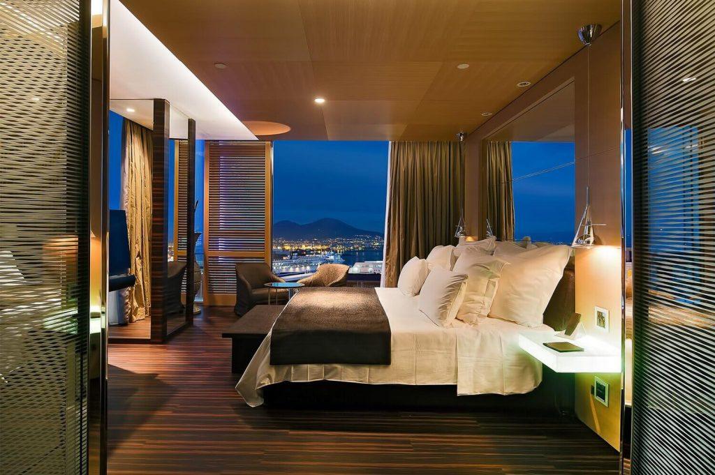 Suite Penthouse vue sur le golfe de Naples, le Vésuve et Capri