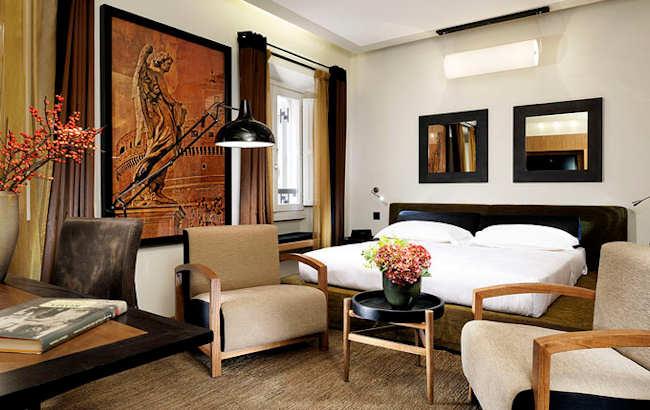 boutique h tel de luxe rome italie babuino 181 suites. Black Bedroom Furniture Sets. Home Design Ideas
