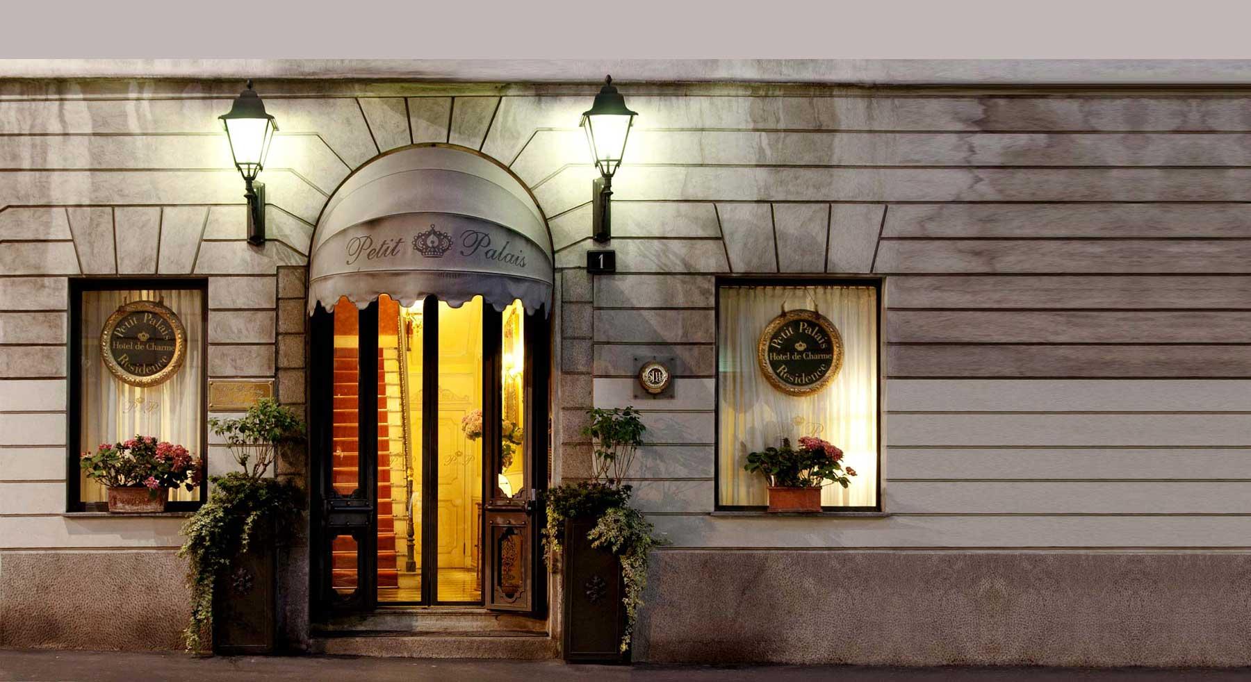 Petit Palais hotel de charme Milan Italie