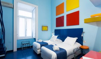 Une chambre du Correra 241 - Art Hotel Naples Italie