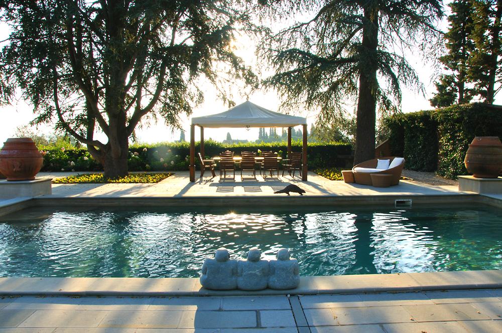 Villa Mangiacane, hotel de luxe avec piscine près de Florence en Toscane
