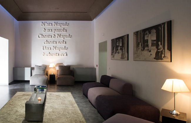 Boutique Hotel design Naples Italie
